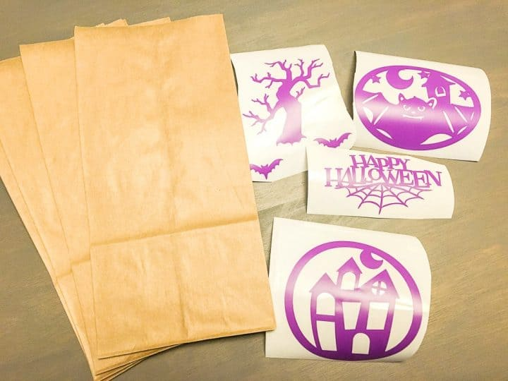 how to create popcorn bags using cricut