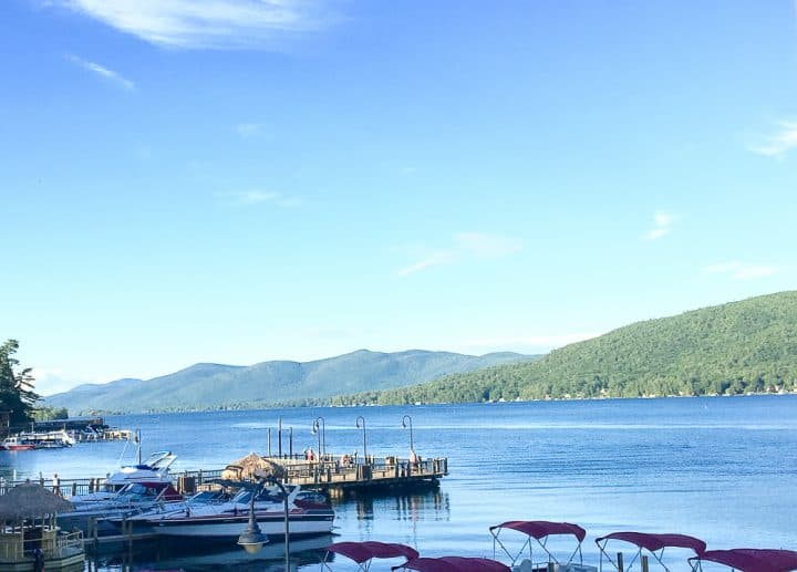 water activities Lake George NY_
