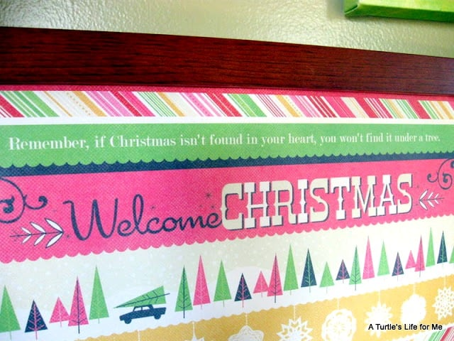 Christmas scrapbook paper