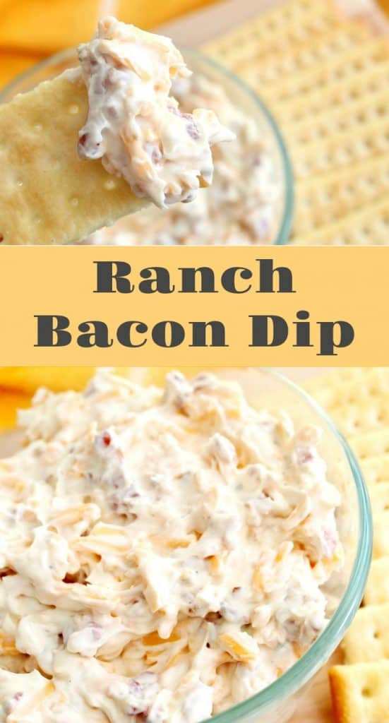 Ranch Bacon Crack Dip Recipe - A Turtle's Life for Me