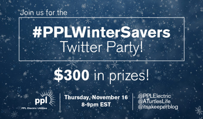 RSVP for the #PPLWinterSavers Twitter Party Thurs., Nov. 16 at 8pm ET!