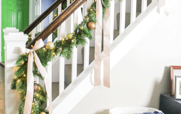How to Make a Faux Christmas Garland