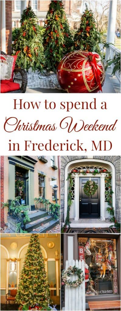 Christmas Holiday activities in Frederick MD