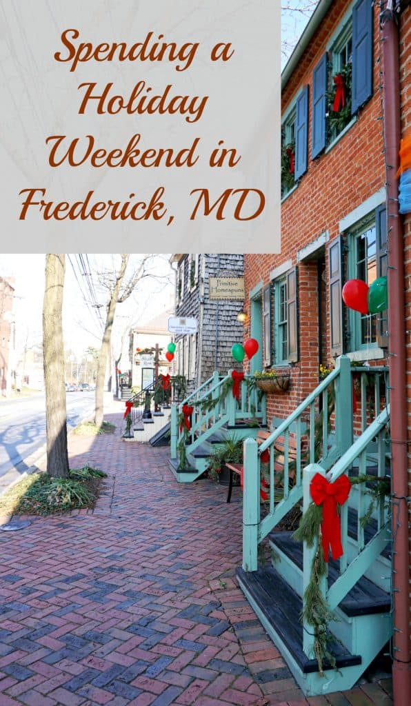 Christmas activities in Frederick MD