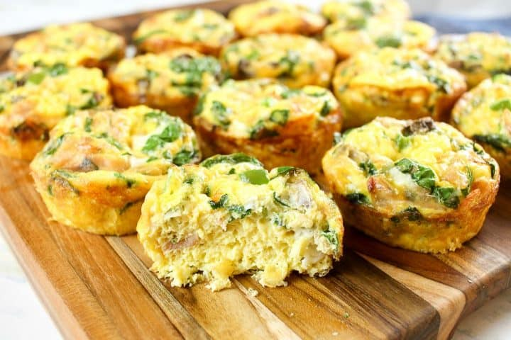 Ingredients for Ham and Egg Freezer Muffins Recipe