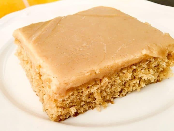 Peanut Butter Sheet Cake peanut butter frosting