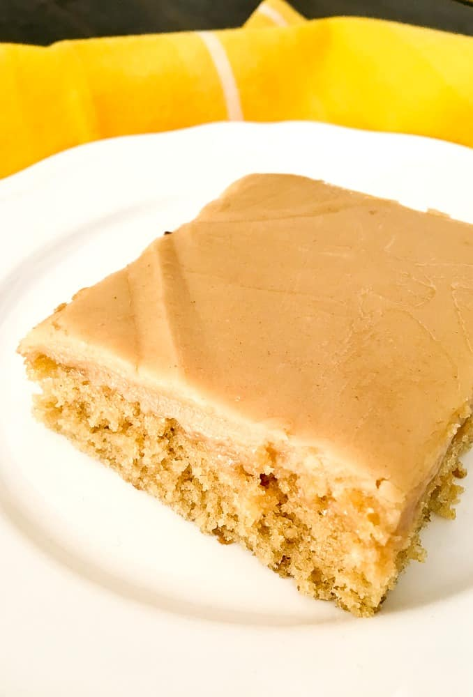 Peanut Butter Sheet Cake peanut butter frosting recipe