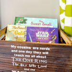 DIY Wooden Book Box for Kids