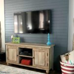 Wood Plank TV Wall
