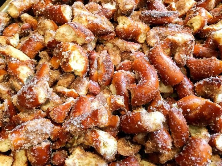 Cinnamon Sugar Pretzel Recipe