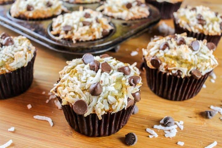 Easy Chocolate Chip Banana Muffins Recipe