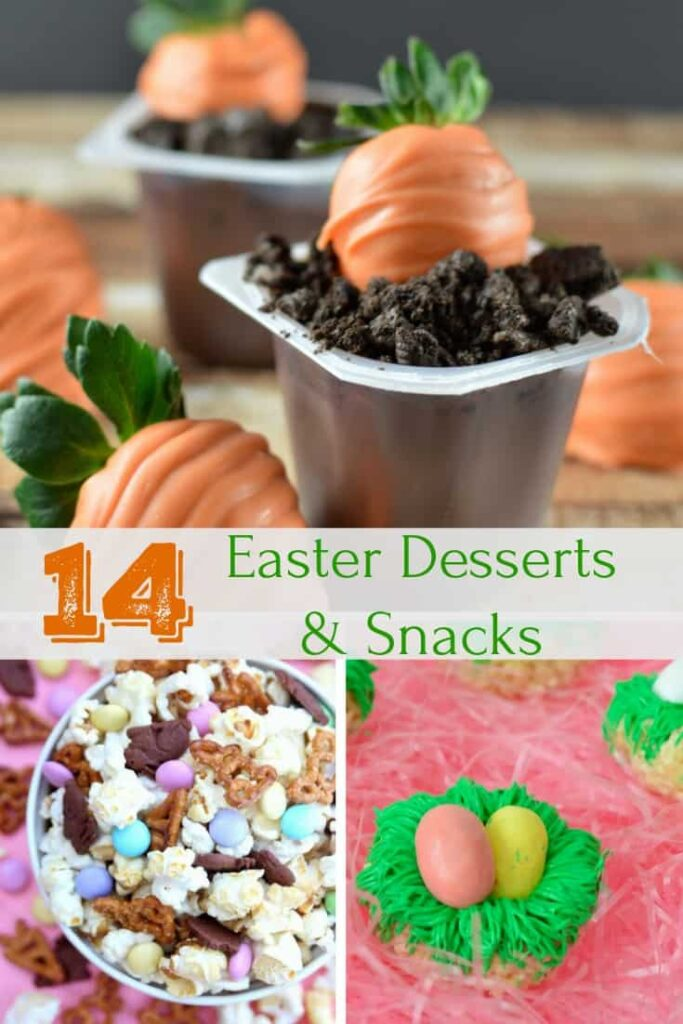 Easy Easter Dessert Snack Recipes