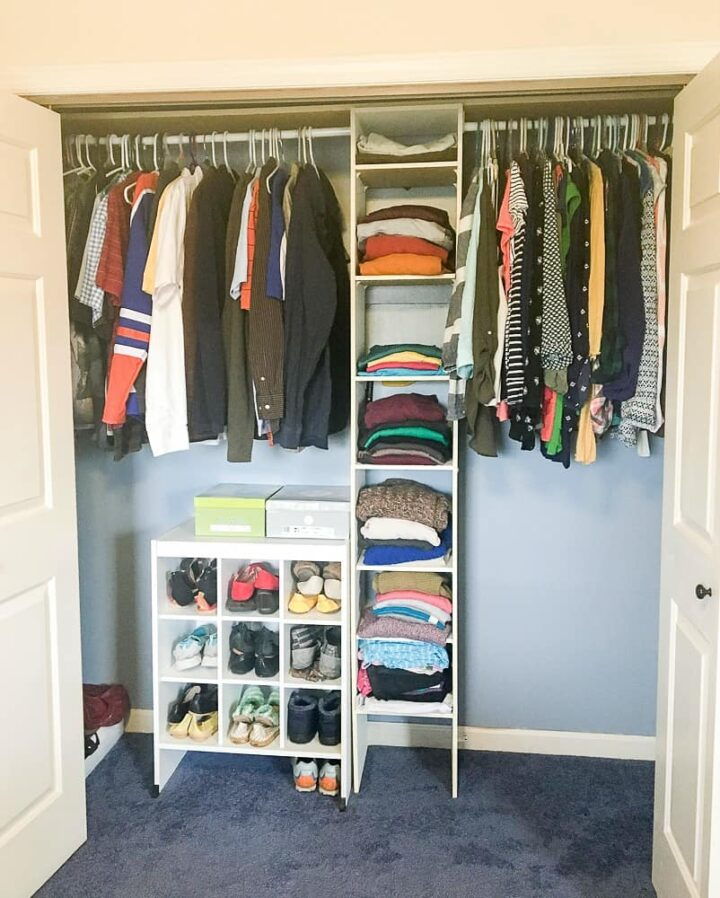 Master Closet Makeover Before After Renovation