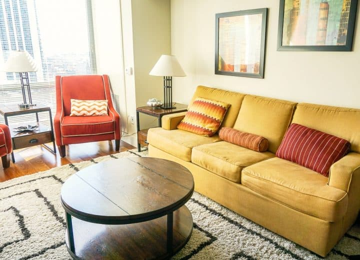 Philadelphia Rittenhouse Square Homeaway vacation rental with view