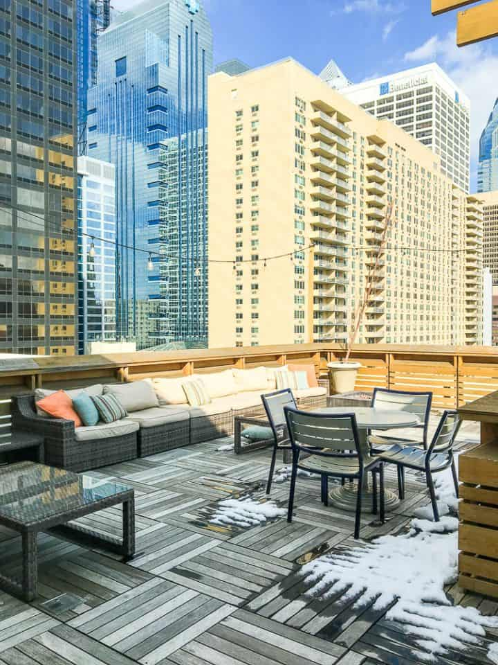 Philadelphia Rittenhouse Square homeaway vacation rental with rooftop deck