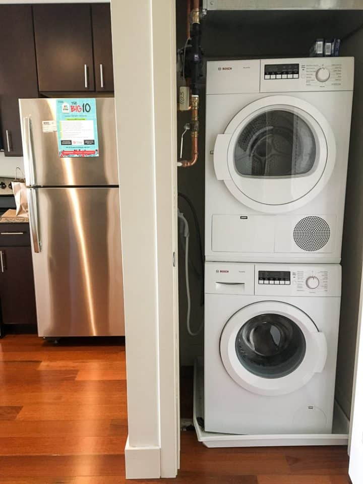 Philadelphia Rittenhouse Square homeaway vacation rental with washer dryer unit