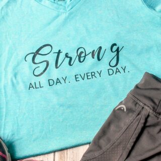 how to customize sports shirts with Cricut vinyl