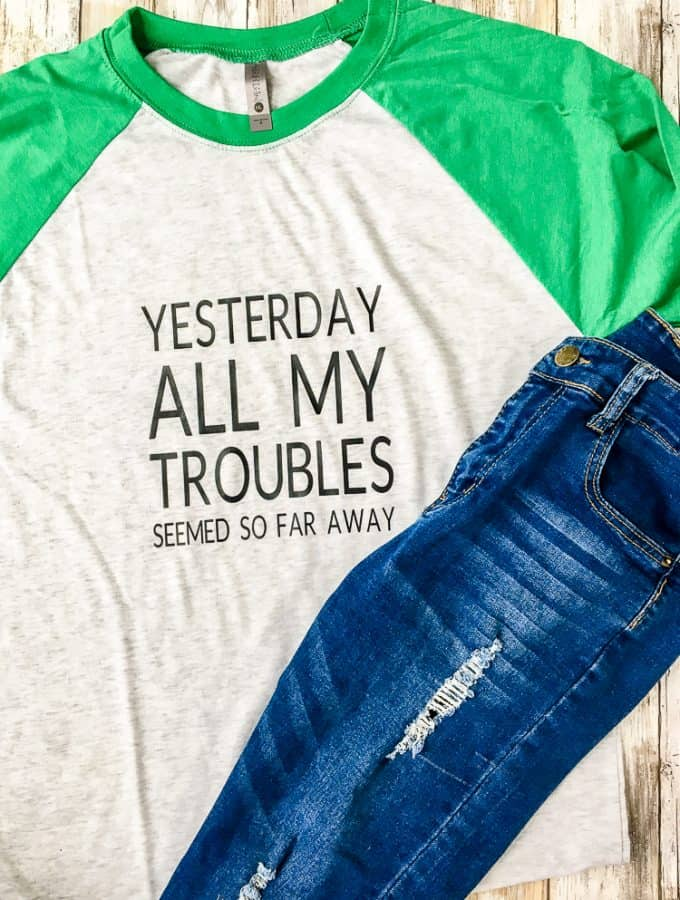 how to make personalized tshirts with heat transfer vinyl