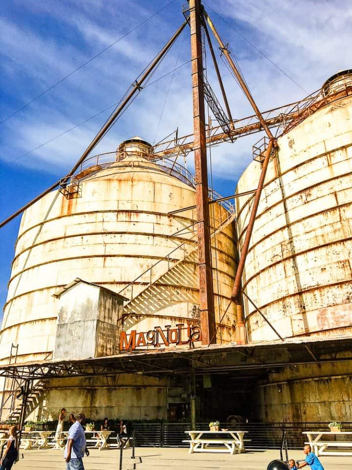 Magnolia Market Silos in Waco Texas