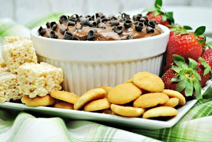 Nutella dip recipe with cream cheese