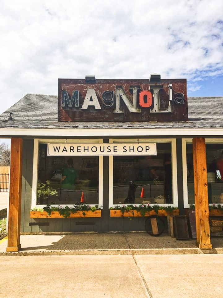 Original Magnolia Shop in Waco Texas