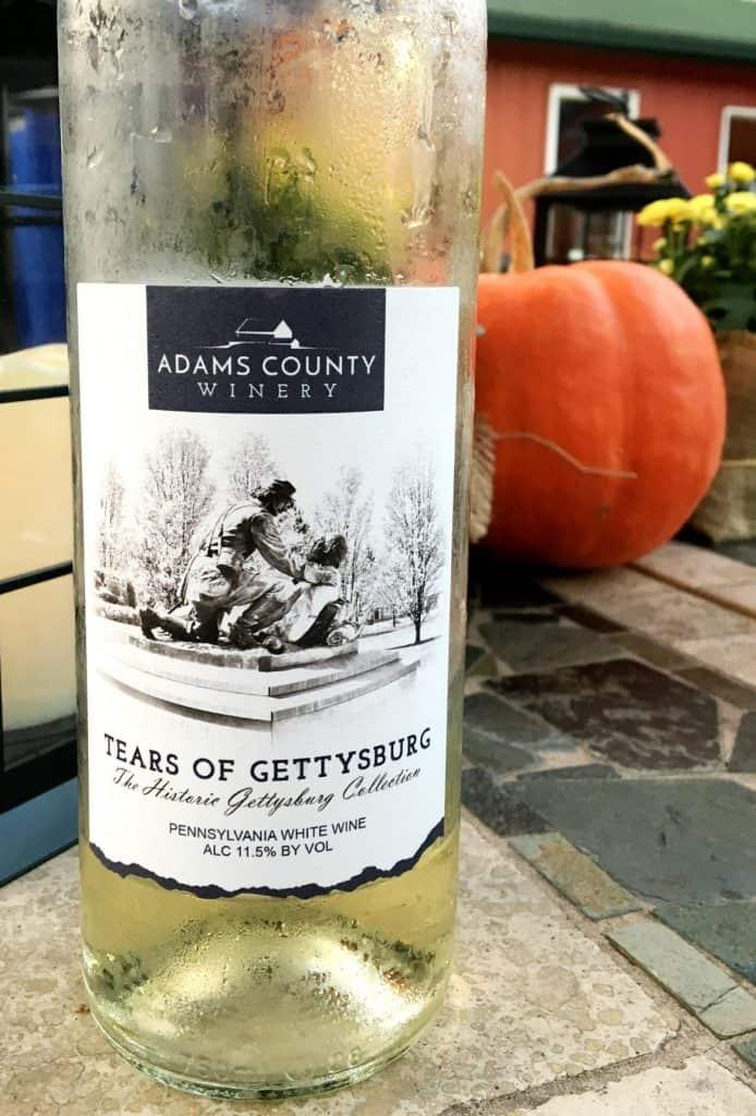 Tears of Gettysburg wine