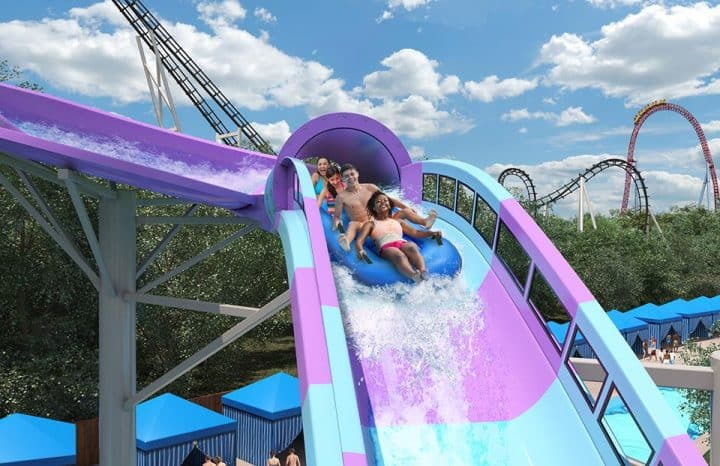 Hersheypark water racer new ride