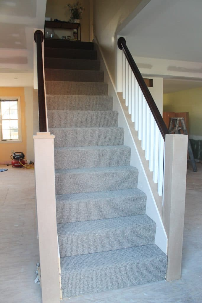 how to add banisters and newel posts to staircase