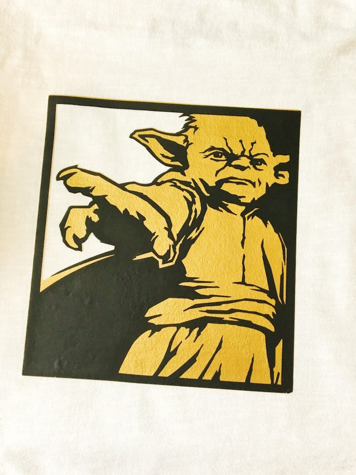 Personalized Yoda Star Wars shirt