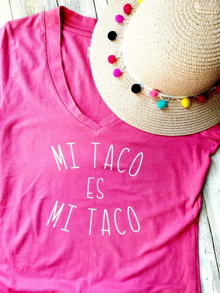 Taco tshirt for Cinco de Mayo