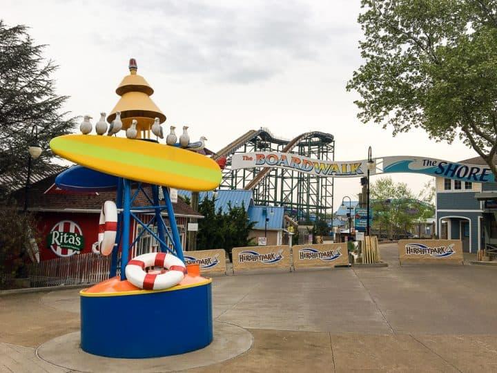 The Boardwalk at Hersheypark