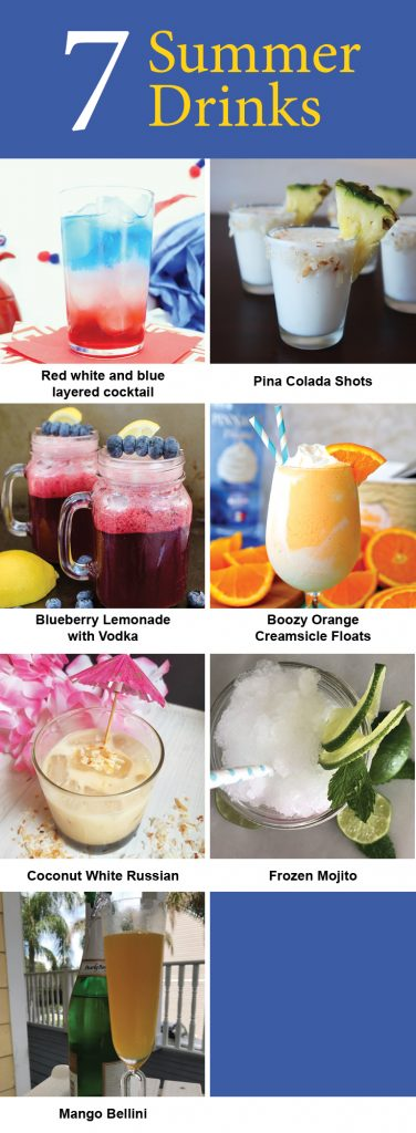 7 Summer Cocktails Recipes