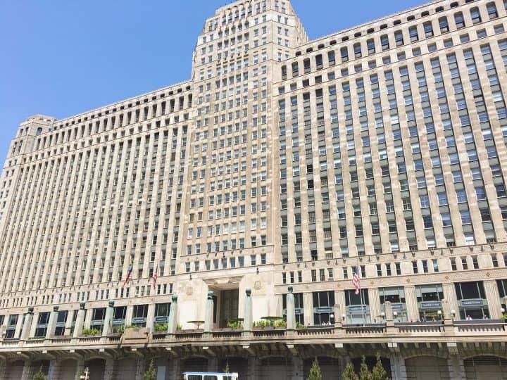 Chicago Architecture Boat Tour Merchants Building