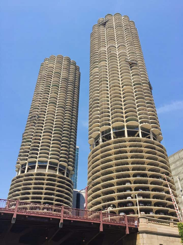 Chicago Architecture Boat Tour honeycomb buildings