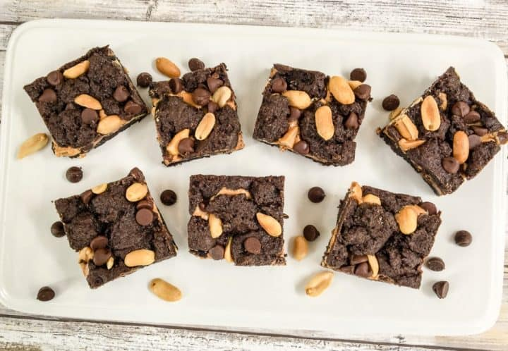 Chocolate Peanut Butter cake mix bar recipes