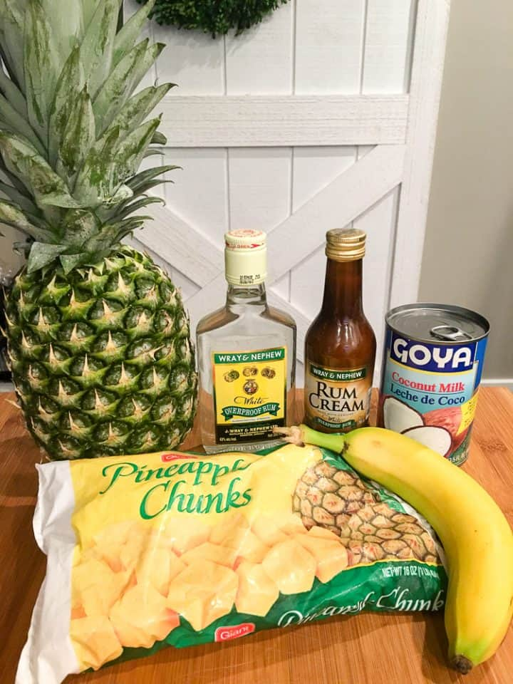 Dole Whip with Rum Recipe Ingredients
