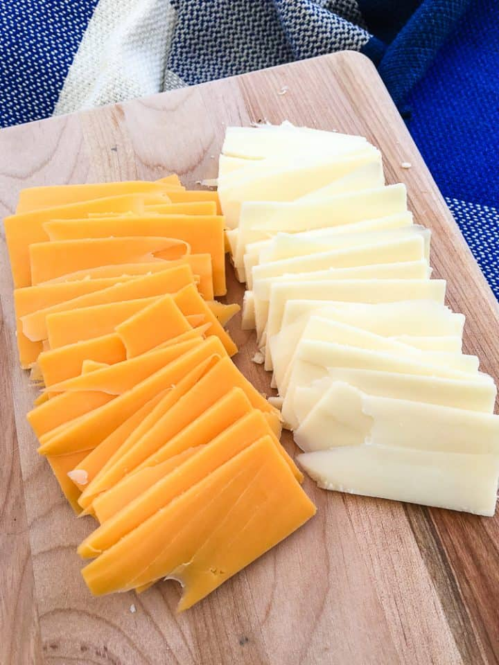How to slice cheese