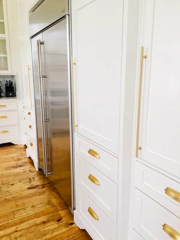 The Morrow House Waco Texas Fixer Upper air bnb rental kitchen design