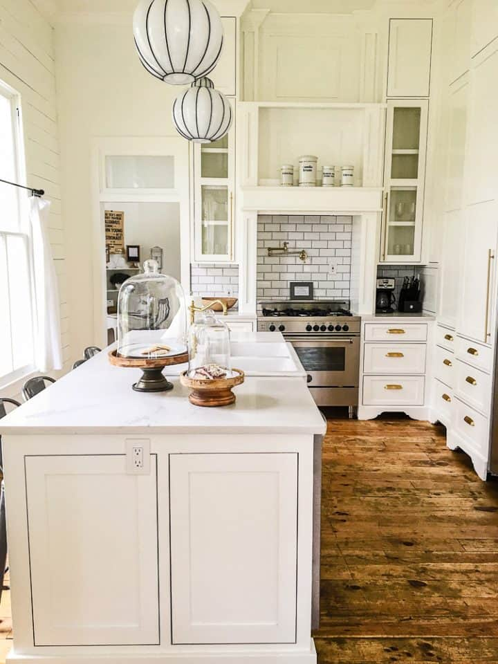 The Morrow House in Waco Texas from Fixer Upper kitchen