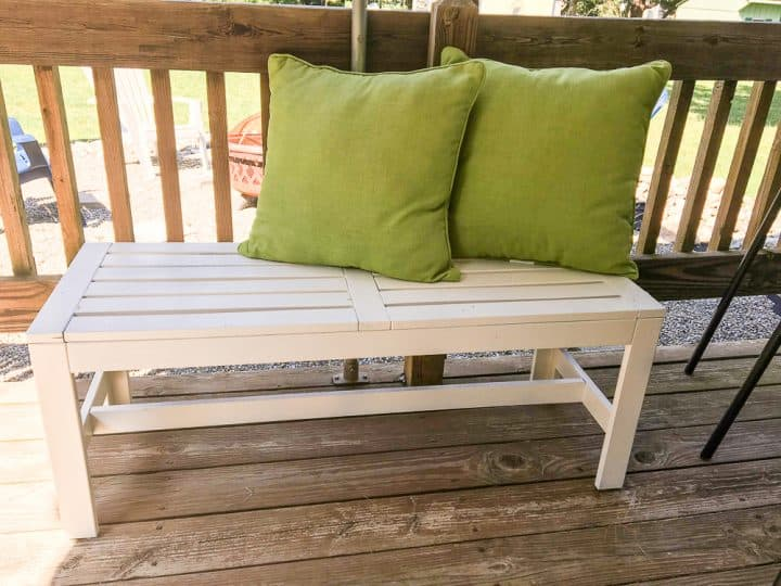 how to paint outdoor wood furniture