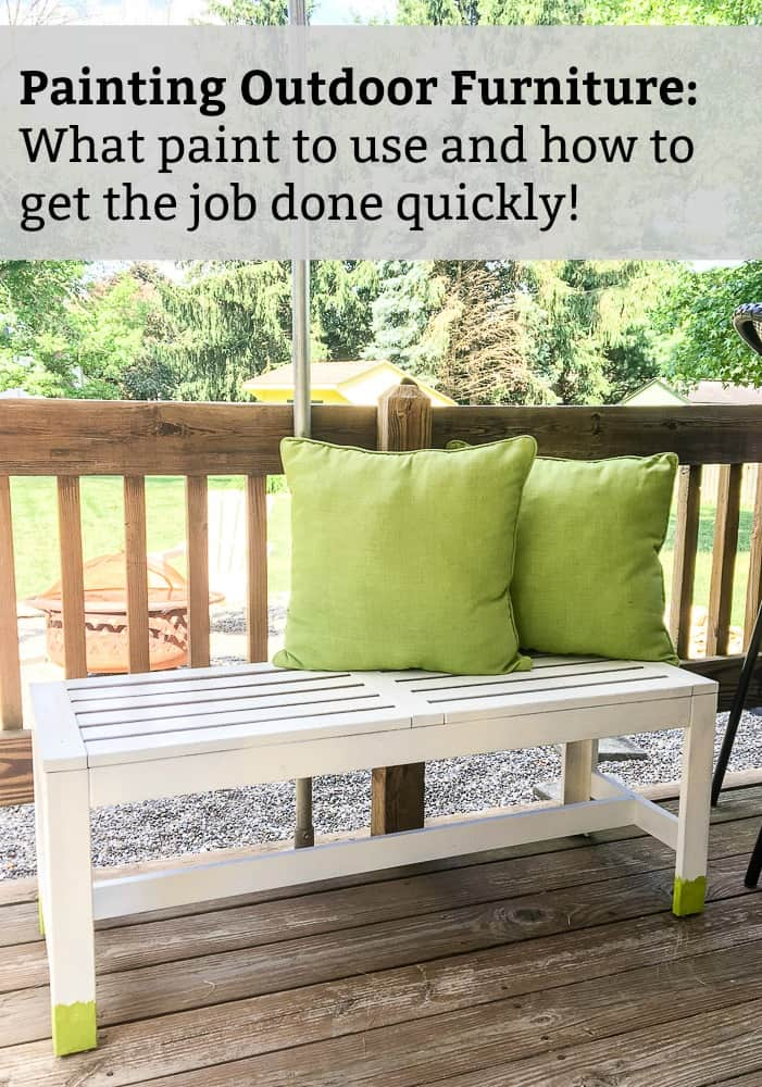 how to paint outdoor wood furniture with exterior paint sprayer