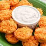 Buffalo Chicken Bites with bleu cheese appetizer recipe