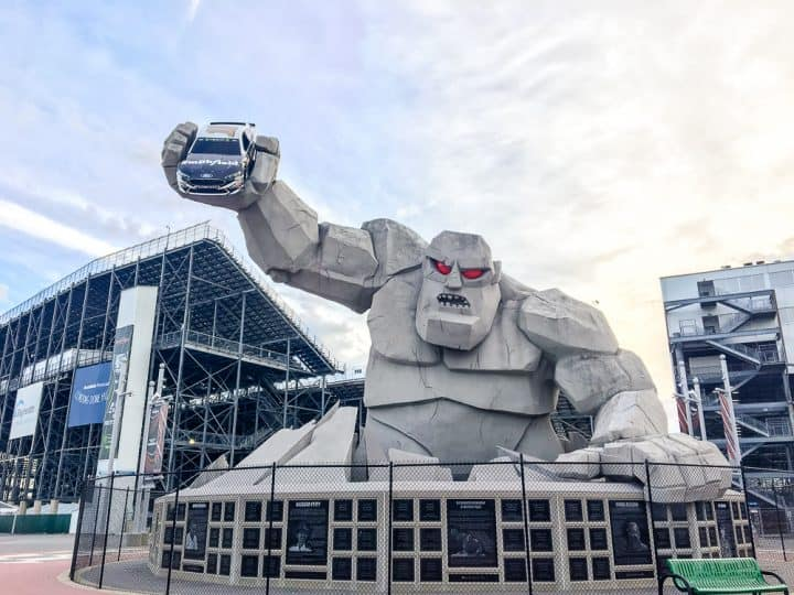 Dover Speedway Monster Monument tour
