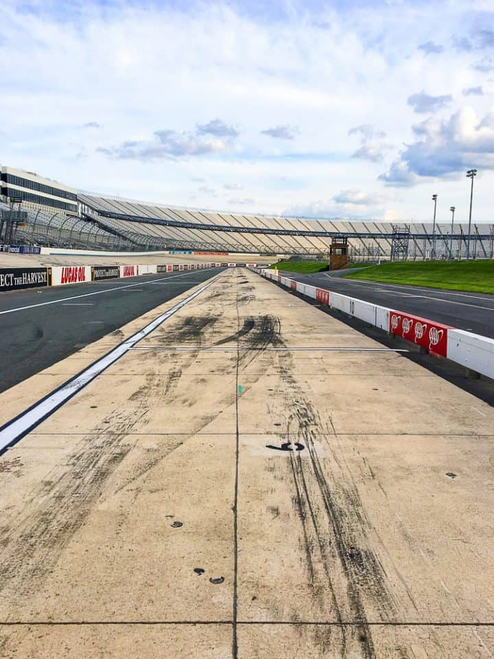 Dover Speedway racetrack pit road tour