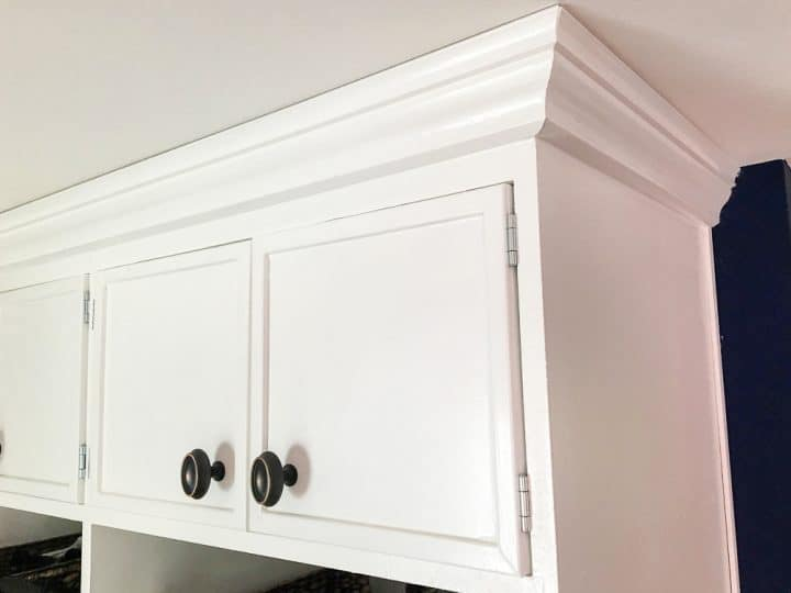 How to build DIY mudroom coat bench with cabinets step by step