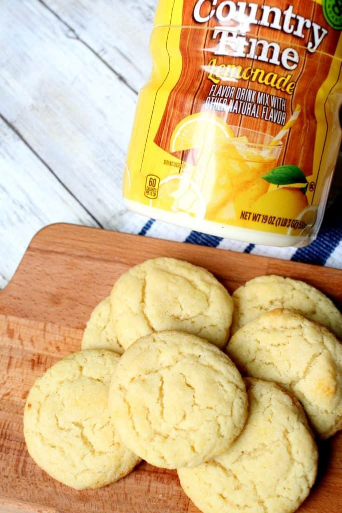 Lemonade Soft Sugar Cookies Recipe