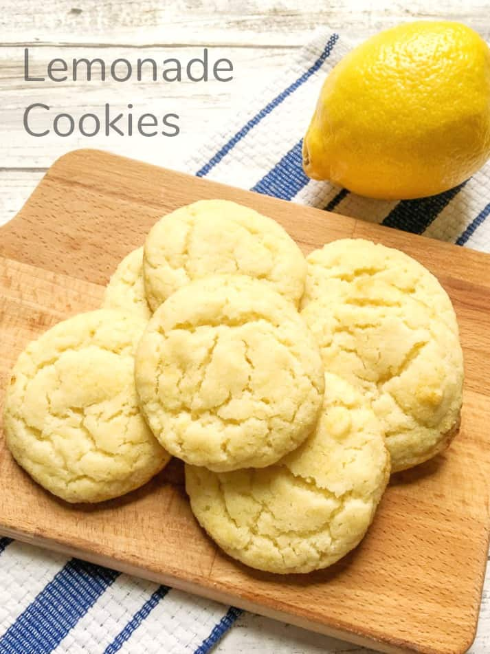 Lemonade Sugar Cookie Recipe