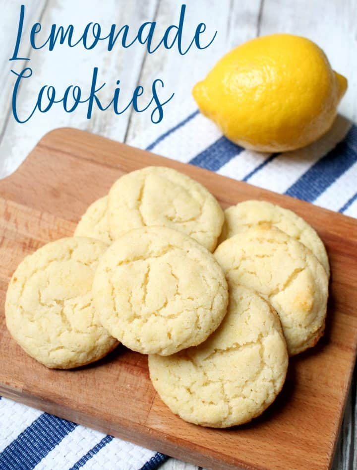 Lemonade Sugar Cookies Recipe for dessert