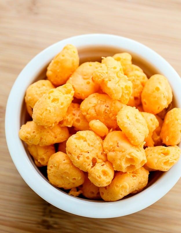 Moon cheese cheddar flavor gluten free snacks