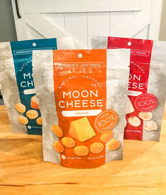 Moon cheese flavors